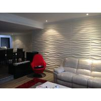 Buy cheap 3dboard wall decor panels 625*800 fiber eco wave panels with original colcor FAKTUM product