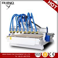 Buy cheap 8 Heads Woodworking CNC Router Machine 380V 3 Phase Type CE Approval product