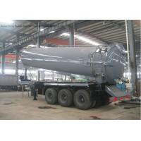 Buy cheap Tri Axles Vac Semi Septic Pump Trailer For Off Road And Oil Field Operation 28000 L product
