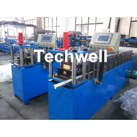 Buy cheap Light Steel Truss Stud Roll Forming Machine Thickness 0.4-1.0mm , 70mm Axis Diameter product