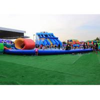 China Large Inflatable Water Park Equipment With 25m Diameter Swimming Pool on sale