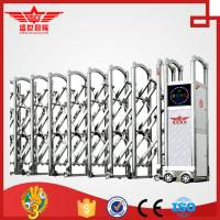 Buy cheap Single track motor operated swing stainless steel gate--J1430 product