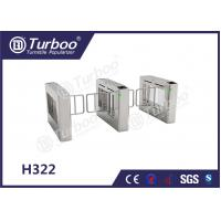 Buy cheap Stainless Steel Swing Barrier Gate , Turnstyle Automatic Gates With Card Reader product