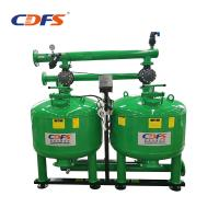 Buy cheap Stainless Steel Irrigation Sand Filter , Cooling Water Recycle 28 Inch Sand Filter product