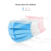 Buy cheap Surgical Earloops Kids 3 Layers Disposable Face Mask product