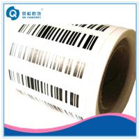 Buy cheap Self Adhesive Barcode Labels On A Roll product