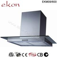 Buy cheap CE CB SAA GS Approved 60cm Push Button Wall Mount Kitchen Chimney Hood product