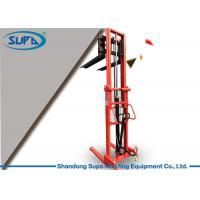 Buy cheap Material Handling Hydraulic Pallet Stacker 680mm Fork Width To Transport Components product