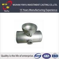 Buy cheap Stainless / Carbon / Alloy Steel Pipe Fittings Metal Casting Products Lightweight product