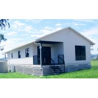 Buy cheap Standard Mobile Sandwich Panel Prefab House Made Small Worker Camp Houses product