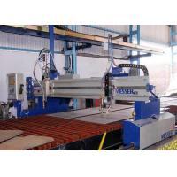 Buy cheap Precision Rack CNC Flame Plasma Cutting Machine Lathe Table Design 3200 X 24800mm product