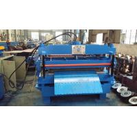 Buy cheap Galvanized Steel C Purlin Roll Forming Machine Indoor Automatic product