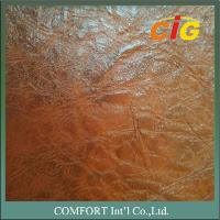 China CIGT850 Print Design artificial leather material 0.8mm / 1.0mm Thick Auto Seat Use wholesale