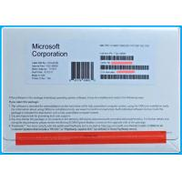 Buy cheap Genuine Microsoft Windows 10 Pro 32 64bit  Pro DSP OEI DVD Version 1709 OEM Software from wholesalers