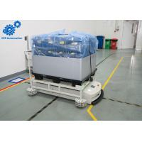 Buy cheap Carbon Steel AGV Automated Guided Vehicle For Warehouse Automatic Storage product