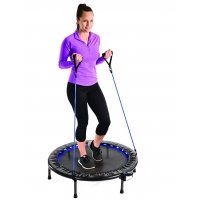 China foldable fitness trampoline with handle, fitness trampoline with handle on sale