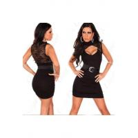 Buy cheap Lace Waisted Sleeveless Women Tight One-piece Dress Mini Dress Evening dress Sexy women nightwear skirts product