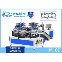 Buy cheap Automatic Assembly Automobile Motor Spacer , Automatic Riviting And Laser Marking Machine product