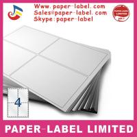 Buy cheap Label Dimensions: 105mm x 148mm Software Compatible Codes: 3483, DPS04 A4 labels product