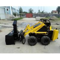 Buy cheap Railway 0.3t Mini Skid Steer Loaders , Hydraulic Snow Blower Loader product