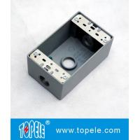 Buy cheap UL Standard Weatherproof Electrical Boxes---- One Gang 3 Holes  Outlet Boxes product