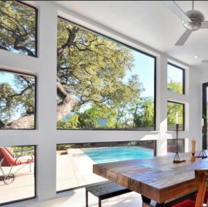 Buy cheap Large glass luxury fixed glass aluminum window product
