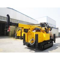 Buy cheap Crawler Hydraulic Engine Drived Rock Drilling Rig , Mining Reverse Circulation Drilling Rig product
