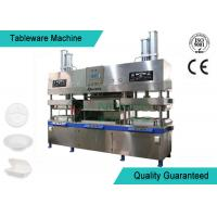 China Easy Operating Wood Fiber Paper Plate Manufacturing Machine Semi Automatic on sale