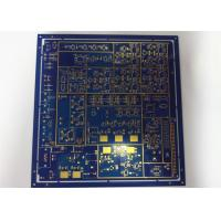 Buy cheap Mulilayer HDI Printed Circuit Boards HASL Blue Solder Mask White Silkscreen from wholesalers