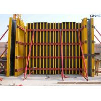 Buy cheap H20 Timber Beam Wall Formwork Systems 6m Height Universal For Vertical Walls product