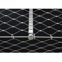 Buy cheap Flexible Stainless Steel Architectural Mesh Corrosion Resistant For Railings product