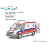 Buy cheap 4ch D1/HD1/CIF HDD Mobile DVR for Ambulance GPS+3G+WIFI Optional product