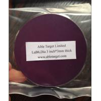 Buy cheap LaB6 Sputtering target,Lanthanum Hexaboride Sputtering target,99.9% from wholesalers