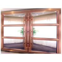 Buy cheap Partition Heavy Duty Sliding Doors, Modern Metal Room Dividers With Aluminum Frame product