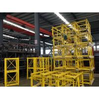 Buy cheap Portable Construction Material Hoists / Passenger Hoist Green Yellow Customized product