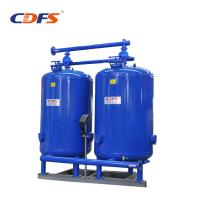Buy cheap Stainless Steel / Activated Carbon Water Filter , Blue Solid Block Carbon Filters product