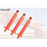 Buy cheap Double Rod End Hydraulic Cylinder , Double Ended Hydraulic Ram 16-32 Mpa product