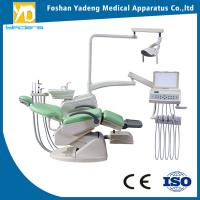 China Ecru Folding Dental Chair Unit With Import Sunction Tubes China wholesale