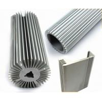 Buy cheap LED Strip Aluminium Profile , Circular Heatsink Extruded Aluminium Profile product