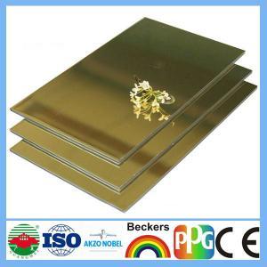 Buy cheap pvdf aluminum composite panel from wholesalers