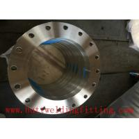 Buy cheap Forged Flange DN100 SO FF 18''  150# A182  F316L ASME B16.5 Super Duplex Stainless Steel Flange from wholesalers
