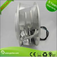 Buy cheap Backward Curved EC Centrifugal Fans Blower For Equipment Cooling CE Approved product
