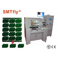 80mm/s PCB Depaneling Router Equipment , Aluminum PCB router Machine SMTfly-F04