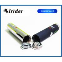 Rechargeable 510 Lava Tube Ecig , Chromes Lavatube Lambo 4.0 With Clearomizer