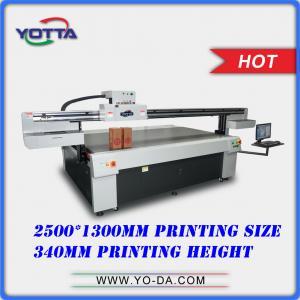 Buy cheap Patent Design UV-LED digital wood box printer Max 340mm height wood box, plastic box printable uv flatbed printers product