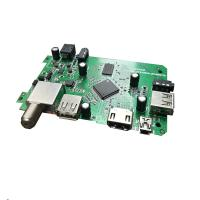 Buy cheap DVB3510C SMT PCB Assembly Video De Interlacing And Post Processing For DVB 6101s 2 Channel Audio product
