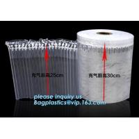 Inflatable packaging airbag roll, transportation packs, shipment packs, carton air cushion bags, customized size, types