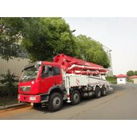 Buy cheap RHD 37m 8x4 FAW 380HP Concrete Pump Trucks with LNG engine product