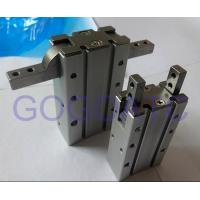 China Double Acting Air Cylinder With  180 Degree Angular Style Aluminium Clamps MHY2-10D SMC Type on sale