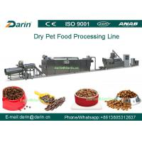 Twin - screw Pet Food Extruder machine / food extrusion equipment